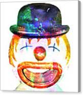 Dead Clown Canvas Print