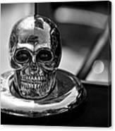 Dead Head Hood Ornament Canvas Print