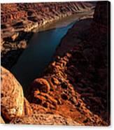 Dead Horse Point Colorado River Bend Canvas Print