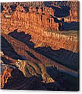 Dead Horse Point Sunrise Panorama Canvas Print
