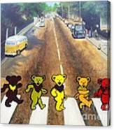 Dead On Abbey Road Canvas Print