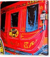 Deadwood Stagecoach Canvas Print