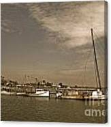 Deal Island Fishing Boats Canvas Print