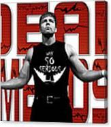 Dean Ambrose Why So Serious Canvas Print