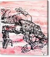 Death Of A Matador Canvas Print