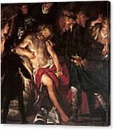 Death Of Cato Canvas Print