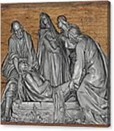 Death Of Christ Canvas Print
