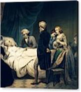 Death Of George Washington Canvas Print