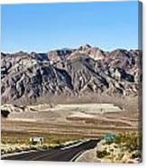 Death Valley Highway Canvas Print