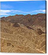 Death Valley Np Zabransky Point  Canvas Print
