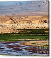 Valley Of Fire Scene Canvas Print
