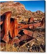 Death Valley Truck Canvas Print