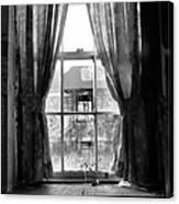 Deaths Window Canvas Print