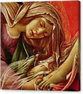 Deatil From The Lamentation Of Christ Canvas Print