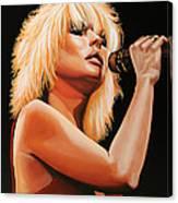 Deborah Harry Or Blondie 2 Canvas Print
