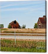 Decaying Farm Central Il Canvas Print