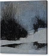 December Dusk Canvas Print
