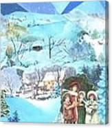 December Evening Landscape - Sold Canvas Print
