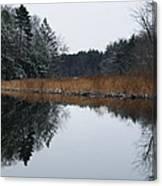 December Landscape Canvas Print