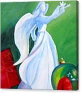 December's Angel Canvas Print