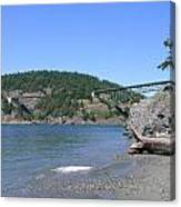 Deception Pass Bridge II Canvas Print