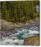 Dechutes River Rapids Bend Oregon Canvas Print