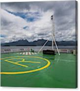 Deck On The Navimag Ferry Canvas Print