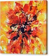 Declaration D'amour Canvas Print