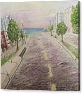 Deco Drive Canvas Print