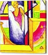 Deco Mirror Canvas Print