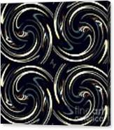 Deco Swirls Canvas Print