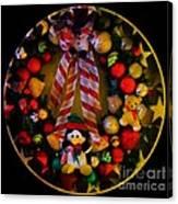 Decorated Wreath Canvas Print