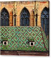 Decorative Roof Canvas Print