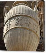Decorative Urn - Palace Of Fine Arts Sf Canvas Print