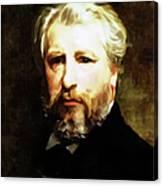 Dedication To William Adolphe Bouguereau Canvas Print