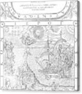 Dee Navigation, 1577 Canvas Print