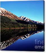 Deep Blue Lake Alaska Canvas Print