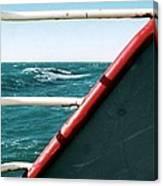 Deep Blue Sea Of The Gulf Of Mexico Off The Coast Of Louisiana Louisiana Canvas Print