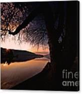 Deep Creek Sunrise Canvas Print