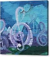 Deep Ellum Means Music Canvas Print