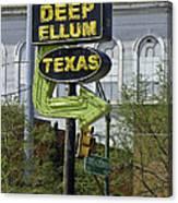 Deep Ellum Texas Canvas Print