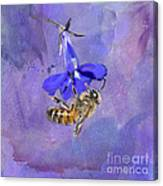 Deep In Purple Canvas Print