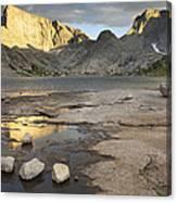 Deep Lake Canvas Print