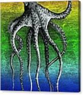 Deep Monster Canvas Print