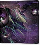 Deep Purp Canvas Print