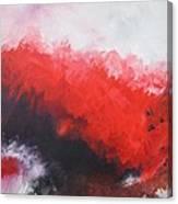 Deep Red 3 Canvas Print
