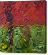 Deep Set Roots Canvas Print