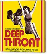 Deep Throat Canvas Print