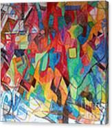 Deeper Study 1 Canvas Print