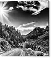 Deer Creek Road Canvas Print